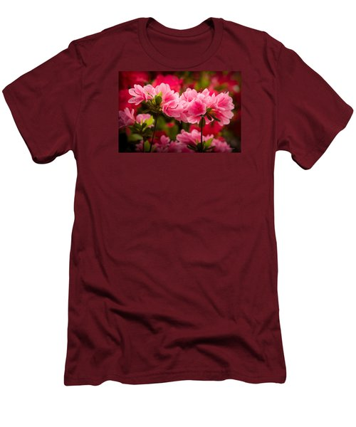 Blooming Delight Men's T-Shirt (Slim Fit) by Denis Lemay