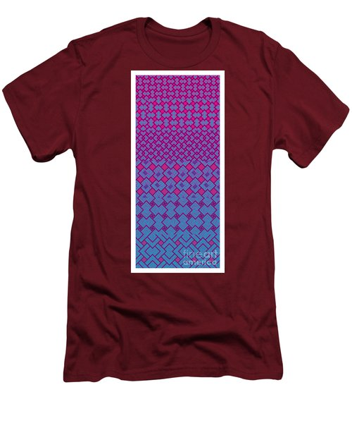 Bibi Khanum Ds Patterns No.4 Men's T-Shirt (Slim Fit)