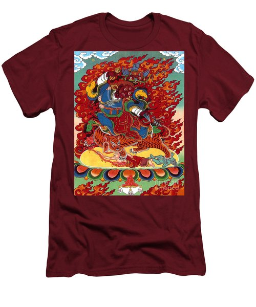 Dudjom's Dorje Drollo Men's T-Shirt (Slim Fit) by Sergey Noskov