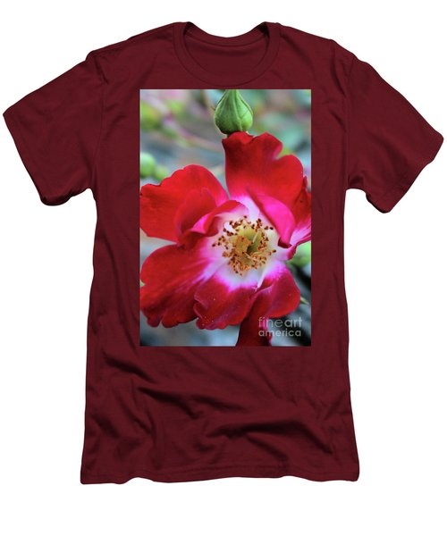 Flower Dance Men's T-Shirt (Slim Fit) by Victor K