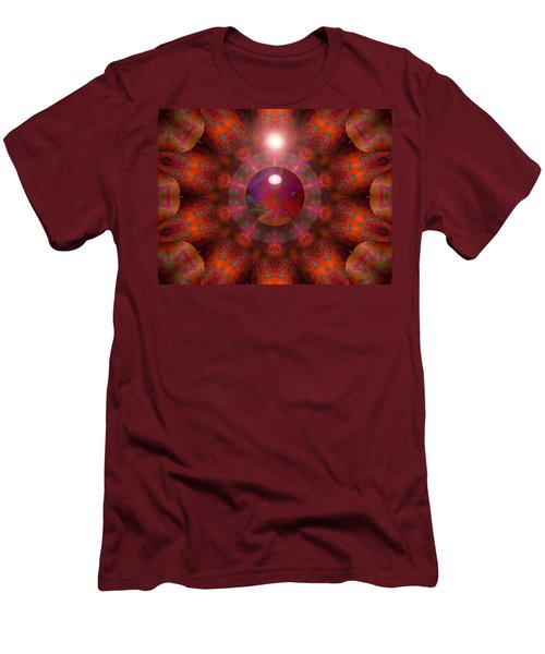 Men's T-Shirt (Slim Fit) featuring the digital art Hold On by Robert Orinski