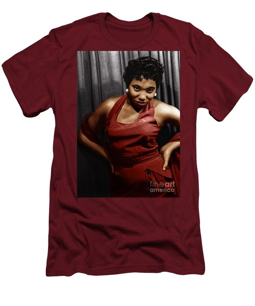 Men's T-Shirt (Athletic Fit) featuring the photograph Leontyne Price by Granger