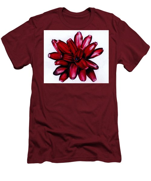 Neoregelia 'christmas Cheer' Men's T-Shirt (Athletic Fit)