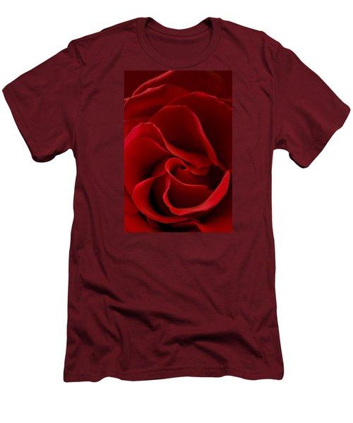 Red Rose Vi Men's T-Shirt (Athletic Fit)