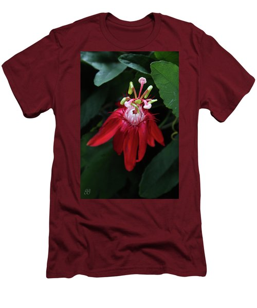 Men's T-Shirt (Slim Fit) featuring the photograph With Passion by Geri Glavis