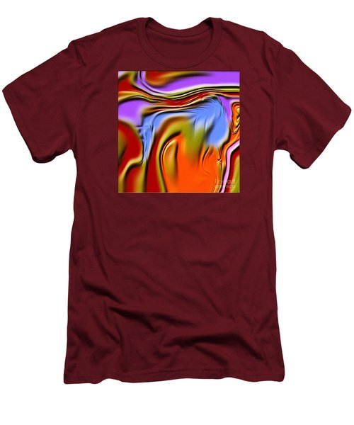 1765 Abstract Thought Men's T-Shirt (Athletic Fit)
