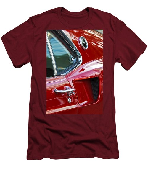 1969 Ford Mustang Mach 1 Side Scoop Men's T-Shirt (Slim Fit) by Jill Reger