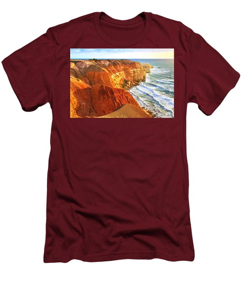 Men's T-Shirt (Slim Fit) featuring the photograph Blanche Point by Bill  Robinson