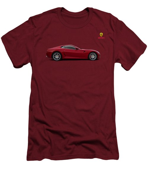 Ferrari 599 Gtb Men's T-Shirt (Slim Fit) by Douglas Pittman