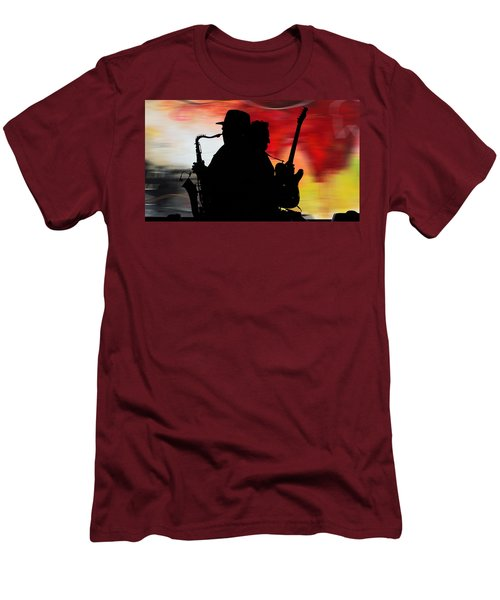 Bruce Springsteen Clarence Clemons Men's T-Shirt (Athletic Fit)