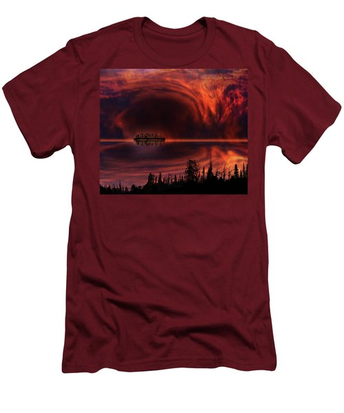 Men's T-Shirt (Slim Fit) featuring the photograph 4385 by Peter Holme III