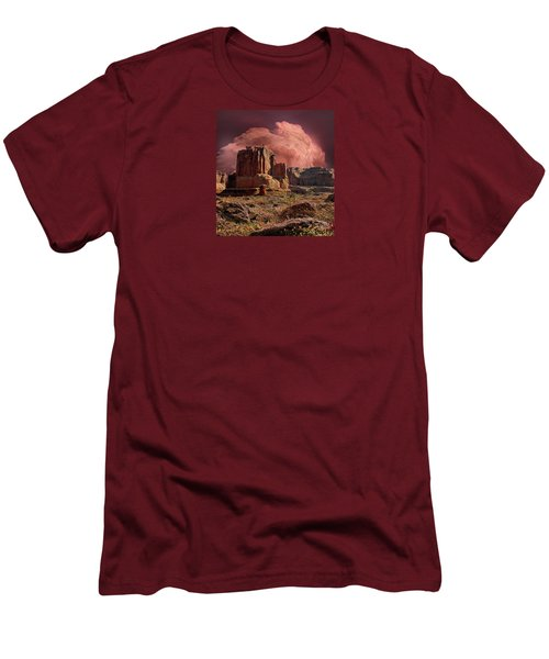 Men's T-Shirt (Slim Fit) featuring the photograph 4417 by Peter Holme III