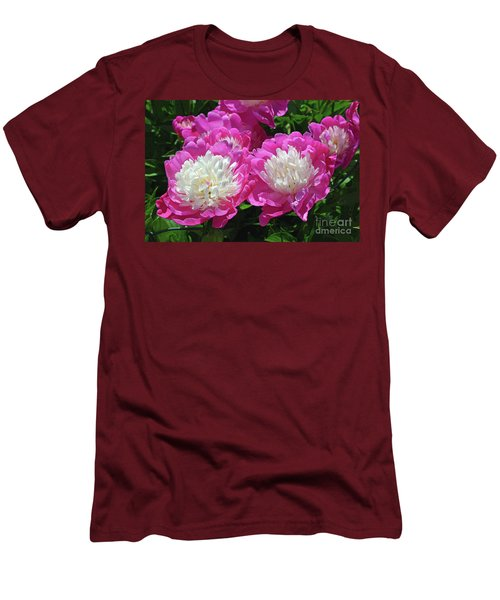 A Bouquet Of Peonies Men's T-Shirt (Athletic Fit)