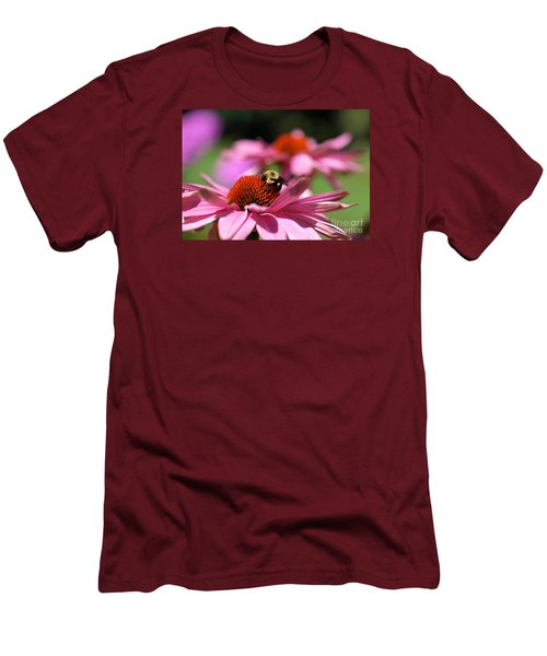 Men's T-Shirt (Slim Fit) featuring the photograph A Day's Work by Susan  Dimitrakopoulos