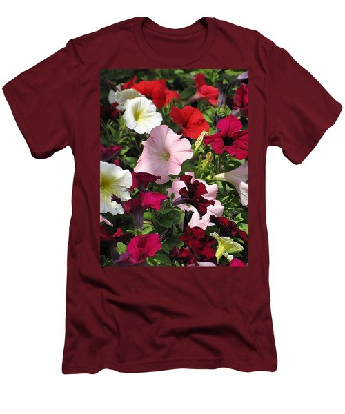 A Plethora Of Petunias Men's T-Shirt (Athletic Fit)