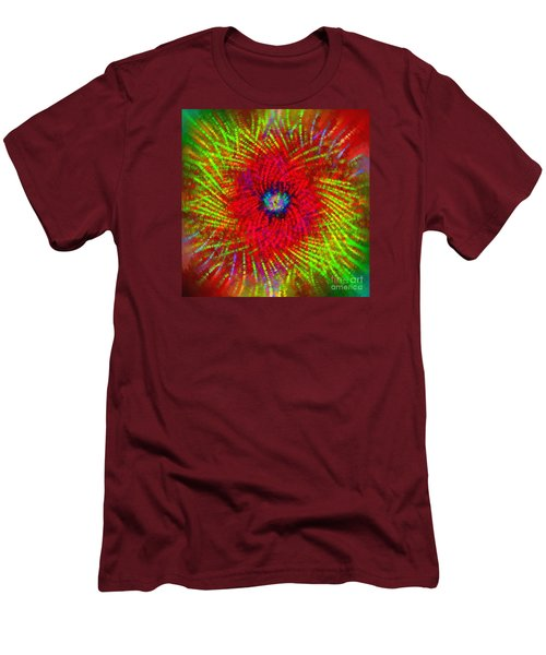 Men's T-Shirt (Slim Fit) featuring the photograph Abstract Swirl 03 by Jack Torcello