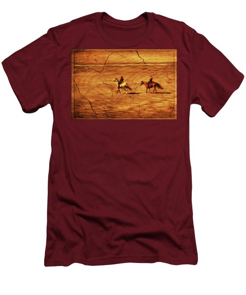 Across The Prairie Men's T-Shirt (Athletic Fit)