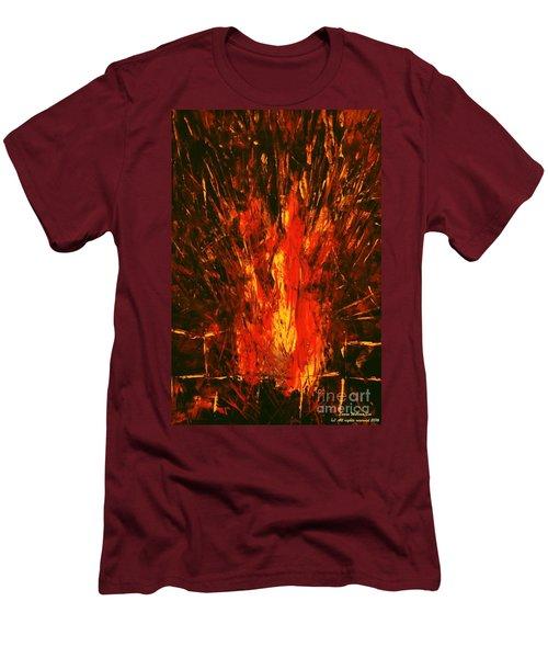 Acrylics Men's T-Shirt (Athletic Fit)