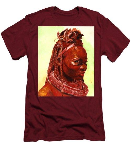 African Beauty Men's T-Shirt (Athletic Fit)
