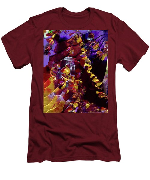 African Violet Awake Men's T-Shirt (Athletic Fit)