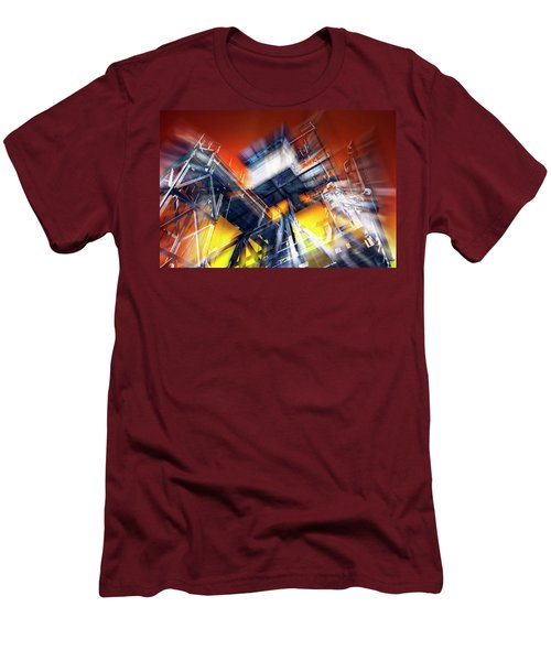 Men's T-Shirt (Slim Fit) featuring the photograph After Effect by Wayne Sherriff