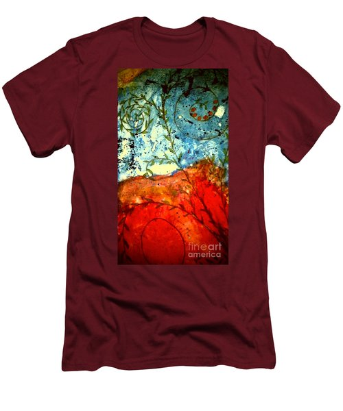 After The Storm The Dust Settles Men's T-Shirt (Slim Fit) by Angela L Walker