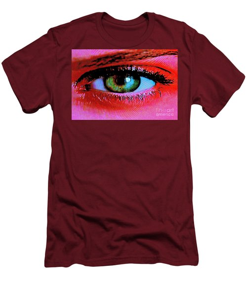 Men's T-Shirt (Slim Fit) featuring the photograph All Seeing by Xn Tyler