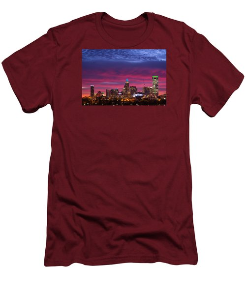 Amazing Colors Of Charlotte Men's T-Shirt (Slim Fit) by Serge Skiba