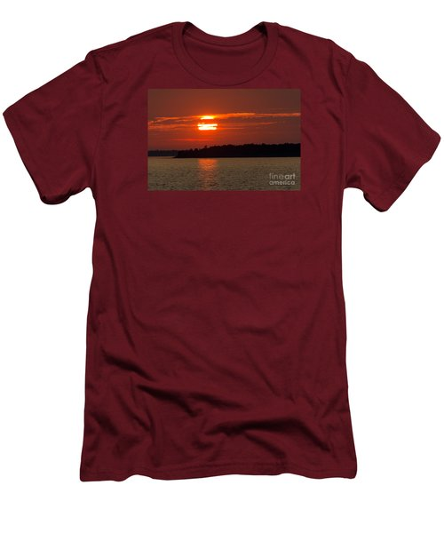 Apostle Island Sunset Men's T-Shirt (Athletic Fit)