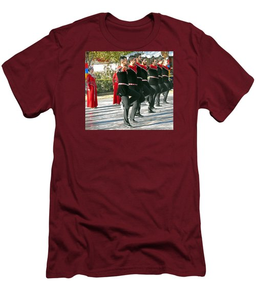 Armenian Dancers 13 Men's T-Shirt (Athletic Fit)