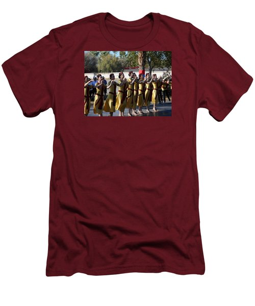 Armenian Dancers 2 Men's T-Shirt (Athletic Fit)