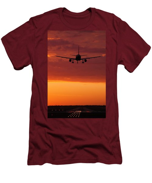 Arriving At Day's End Men's T-Shirt (Athletic Fit)