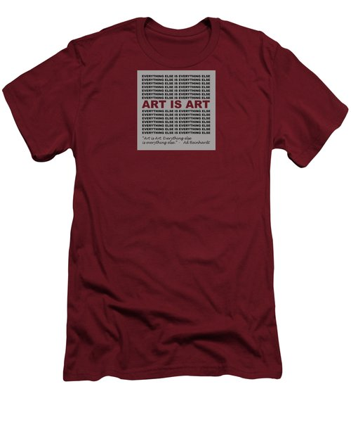 Art Is Art Men's T-Shirt (Athletic Fit)