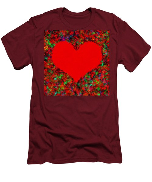Art Of The Heart Men's T-Shirt (Athletic Fit)
