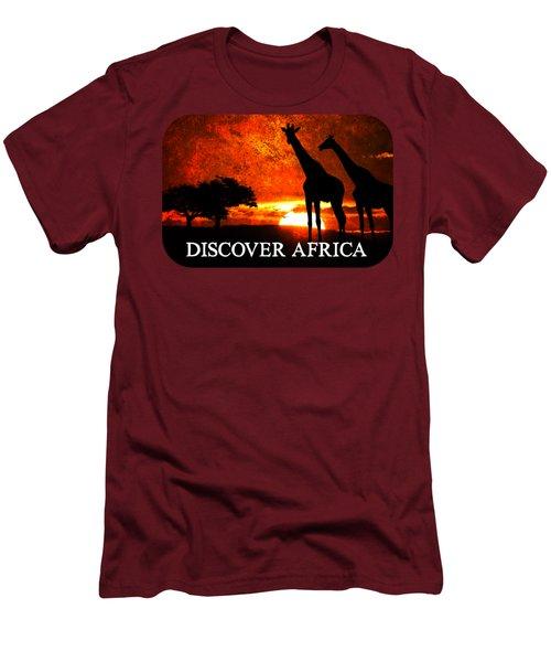 African Safari Men's T-Shirt (Athletic Fit)