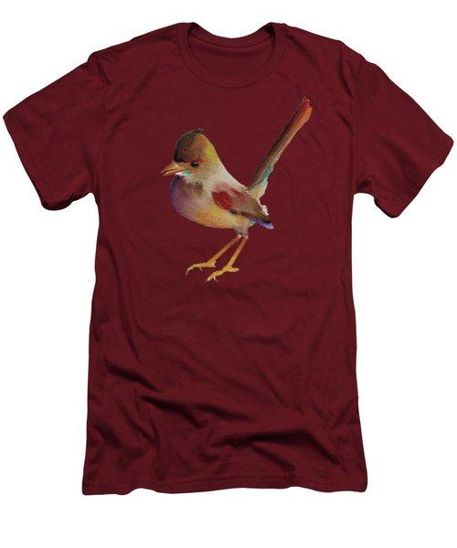 Wren Men's T-Shirt (Slim Fit) by Francisco Ventura Jr