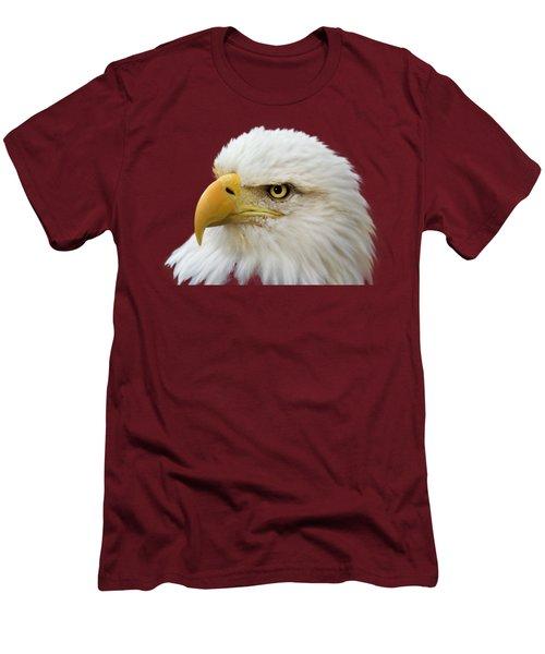 Eagle Eye Men's T-Shirt (Slim Fit) by Shane Bechler