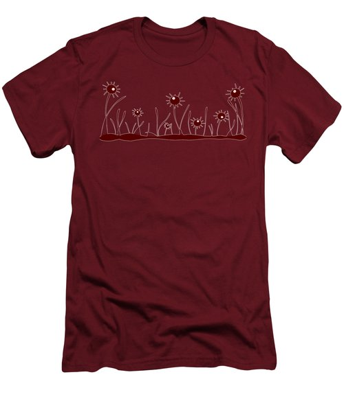 Line Of Defense Men's T-Shirt (Athletic Fit)
