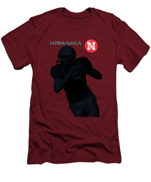 Nebraska Football Men's T-Shirt (Slim Fit)