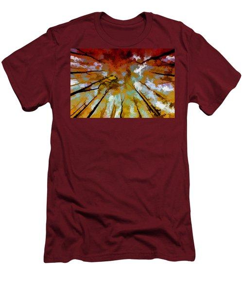 Autumn Ascent Men's T-Shirt (Athletic Fit)