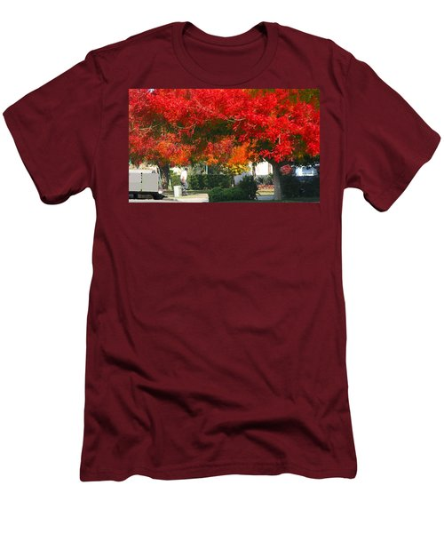 Autumn Fresno Men's T-Shirt (Slim Fit)