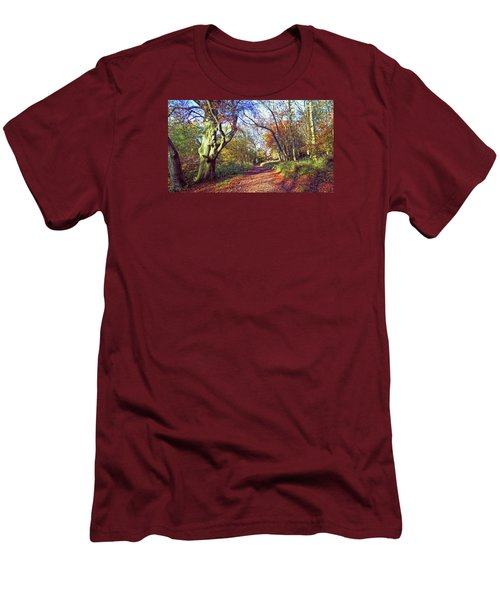 Autumn In Ashridge Men's T-Shirt (Athletic Fit)