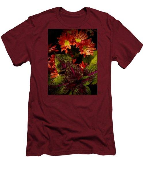 Autumn Inside Men's T-Shirt (Slim Fit) by Tim Good
