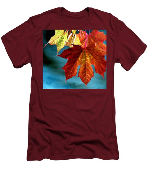 Men's T-Shirt (Athletic Fit) featuring the photograph Autumn Regalia by Will Borden