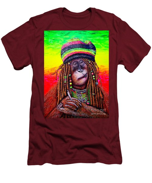 B.#2 Men's T-Shirt (Athletic Fit)