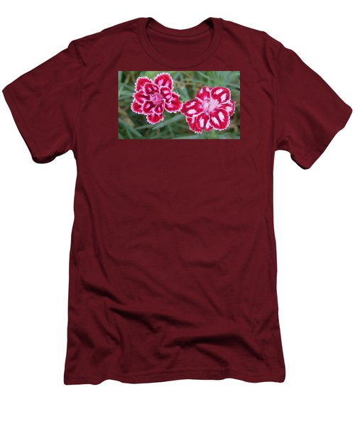 Beauties In My Garden Men's T-Shirt (Athletic Fit)