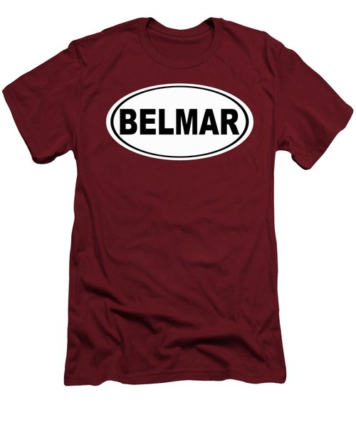 Men's T-Shirt (Slim Fit) featuring the photograph Belmar New Jersey Home Pride by Keith Webber Jr