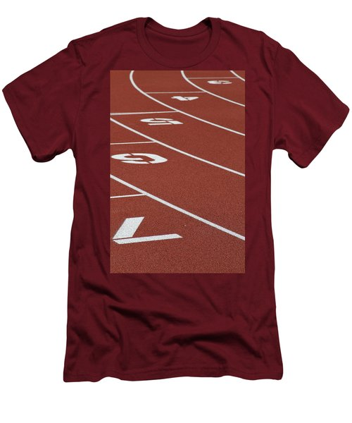 Men's T-Shirt (Slim Fit) featuring the photograph Bending Reality by Laddie Halupa