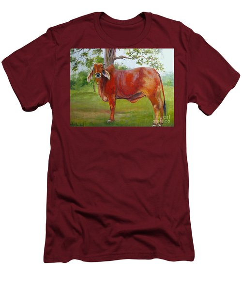 Bessie The Brahama Men's T-Shirt (Slim Fit)