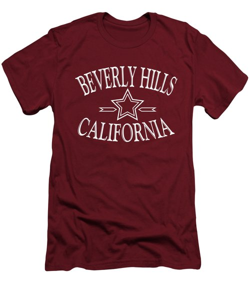 Beverly Hills California Design Men's T-Shirt (Athletic Fit)